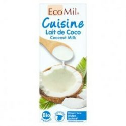 Ecomil bio kókusz főzőkrém 200 ml