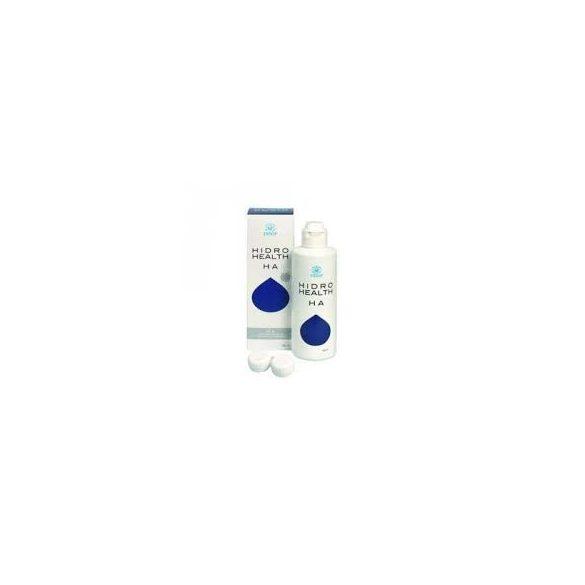 Hidro health ha kontaktlencse ápoló folyadék + antibakteriális kontaktlencse tartó, 360 ml