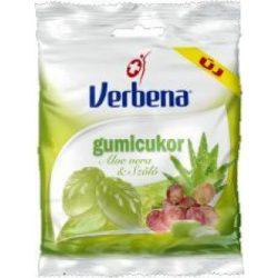 Verbena Gumicukor Aloe Vera-Szőlő 60 g