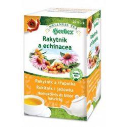Herbex homoktövis és bíbor kasvirág tea 20x3g 60 g