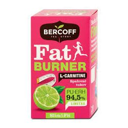 Bercoff Zsírégető Tea L-Carnitine Lime 20 filter
