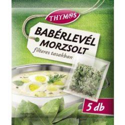 Thymos babérlevél morzsolt-filteres 5 g