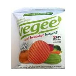 Organique bio burgonya snack zöldséges vegee 85 g