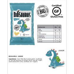 Biopont bio kukoricás snack tengeri sós biosaurus 50 g