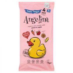 Angelina bio kukoricás snack 4x15g 60 g