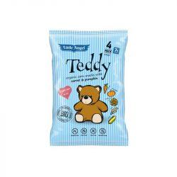 Teddy bio kukoricás snack 4x15g 60 g