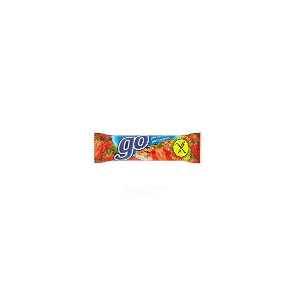 Fit go gluténmentes müzliszelet eper-joghurt 23 g