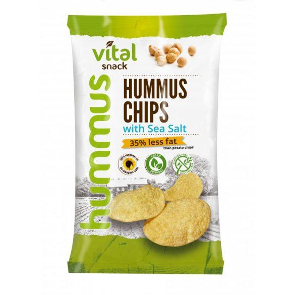 Vital humusz chipsz tengeri sóval 65 g