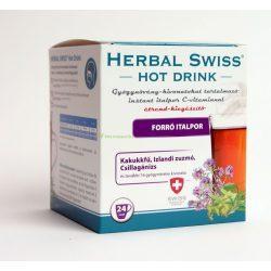 Herbal Swiss hot drink instant italpor 24x
