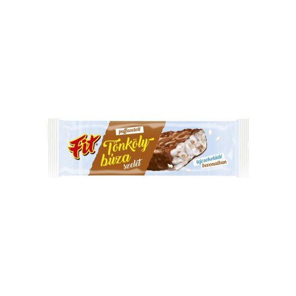 Fit puffasztott tönkölybúza szelet tejcsokoládés 18 g