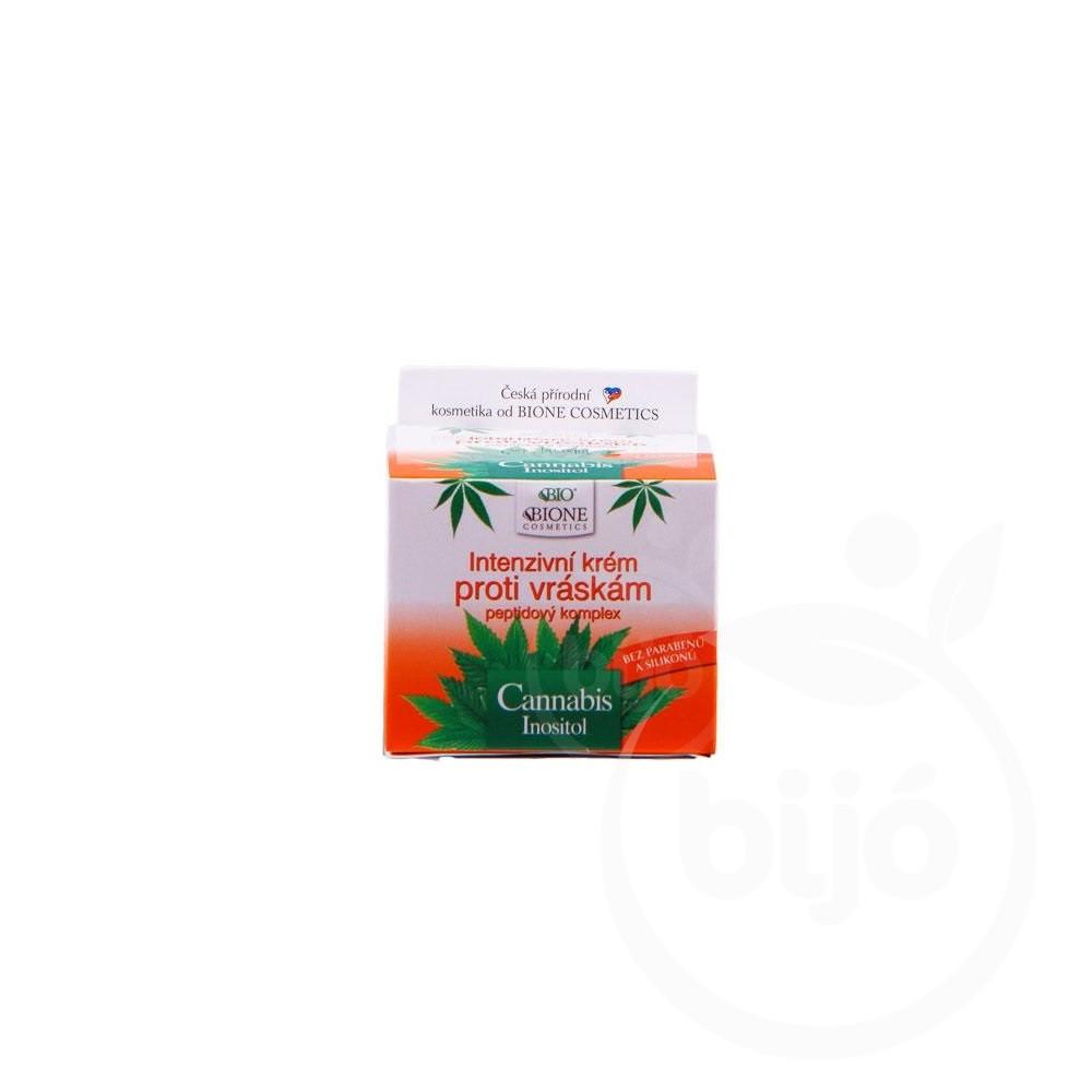 Bione cannabis intenzív ránctalanító krém 51 ml Bioszállító