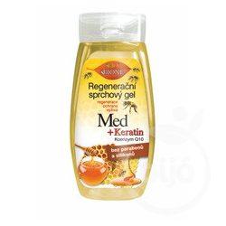 Bione méz+Q10 regeneráló tusfürdő 260 ml