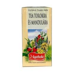 Apotheke tea torokra és mandulára 20x1,5g 30 g