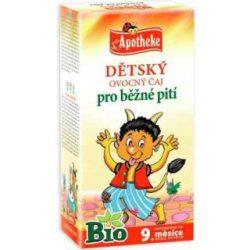 Apotheke bio gyermek gyümölcstea 20x1,5g 30 g
