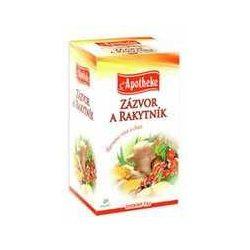 Apotheke gyömbér és homoktövis tea 20x2g 40 g
