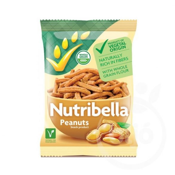 Nutribella snack földimogyorós 70 g