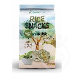 Benlian mini puffasztott rizs-pesto+ olivaolaj 50 g
