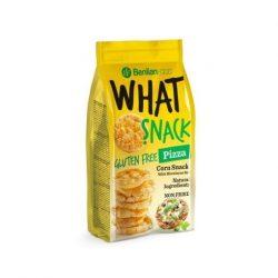 Benlian What snack gluténmentes puff. kukorica pizzás 50 g