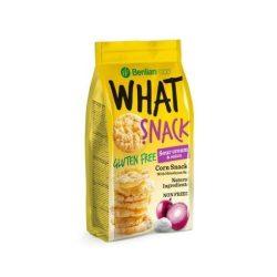 Benlian What Snack gluténmentes puffasztott kukorica tejszínes-hagymás 50 g