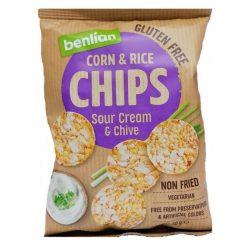 Benlianf.Kukor.&B.Rizs Chips Tejf.-Sn.Gm 50 g