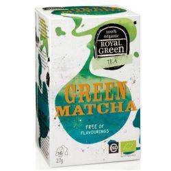 Royal Green Bio Tea Zöld Matcha 16 filter