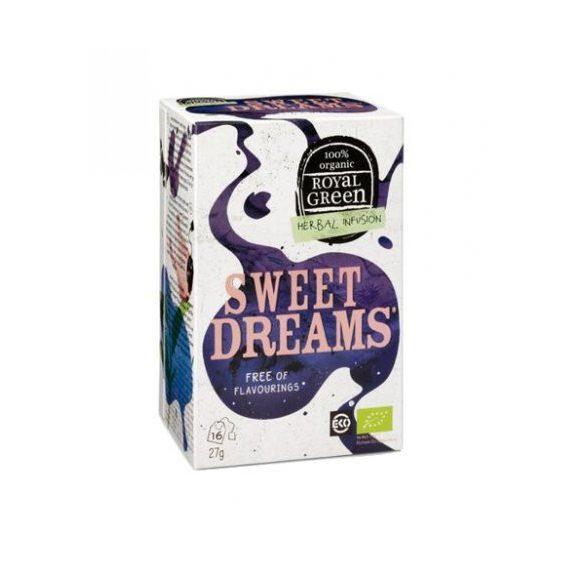ROYAL GREEN BIO TEA SWEET DREAMS 16 filter