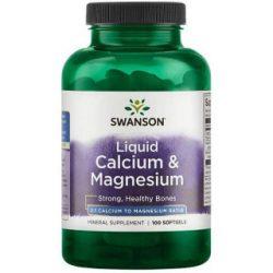 Swanson liquid calcium-magnesium kapszula 300/150mg 100 db