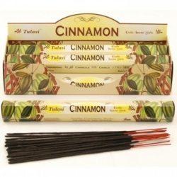 Füstölő tulasi hosszú cinnamon 8 db