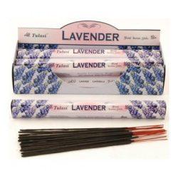 Füstölő Hatszögletű Tulasi Lavender 20 db