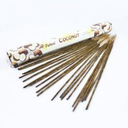 Füstölő tulasi hosszú coconut 8 db