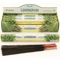 Füstölő tulasi hatszög lemongrass 20 db