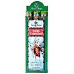 Füstölő tulasi szent saint cristobal 20 db