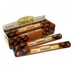 Füstölő tulasi hatszög chocolate 20 db