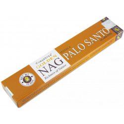 Füstölő Golden Nag Palo Santo