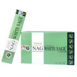 Füstölő Golden Nag White Sage