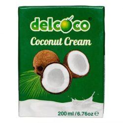 Delcoco kókuszkrém 24% 200 ml