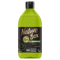Nature Box Sampon Avokádó Regenerált Haj 385 ml