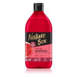 Nature Box Sampon Gránátalma Festett Haj 385 ml