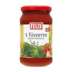 Felix sugo 5 fűszeres paradicsomszósz 360 g 360 g