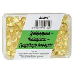 Bano Fokhagyma-Galagonya-Fagyöngy Kapsz. 100 db