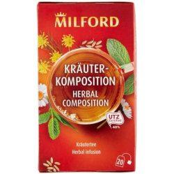 Milford Gyógynövény teakeverék 20x1,75g