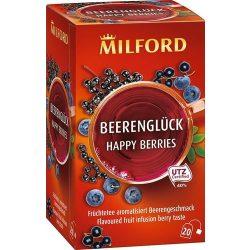 Milford Bogyósgyümölcs ízű gyümölcstea 20x2,5g