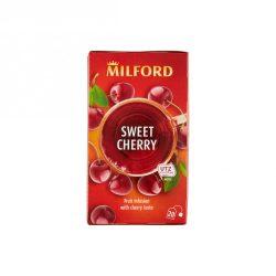 Milford Cseresznye ízű gyümölcstea 20x2g