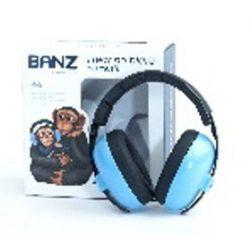 Banz Bubzee Baby Earmuffs Sky Blue fülvédő