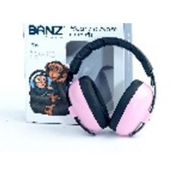 Banz Bubzee Baby Earmuffs Petal Pink fülvédő