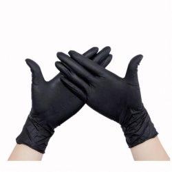 """MAXTER nitril fekete gumikesztyű """"M""""-es méret 100 db"""