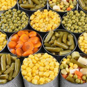 Zöldség konzerv